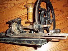 Antique Knitting Machine Hinkley One Needle 1866 Extremely RARE   eBay