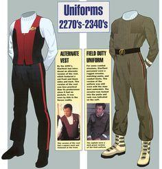 Star Trek uniform vest - alternative.