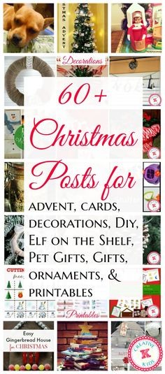 Here are Christmas roundups for many posts linked up to the Bloggers Brags Pinterest Party from Christmas decorations, gifts, diy, ornaments, elf on the shelf, and more!