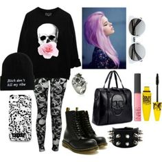 Fierce , http://truelightcollection.com/ #black  wardrobe