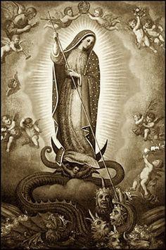 La plus terrible ennemie du diable est la Très Sainte Vierge Marie Plus