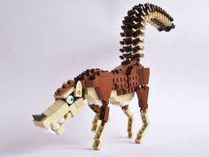 Lego wolf by Mr. Sandman #art #lego