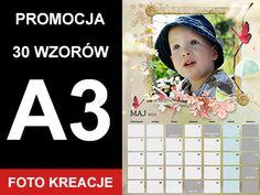 FOTOKALENDARZ A3 Piękne Wzory - kalendarz foto