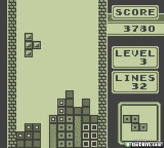 80's childhood-memories - Tetris