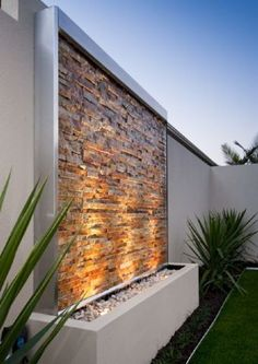 At WG Outdoor Life, we sell a range of Perth's premium water features. Visit our showroom to view our garden fountains, right through to water walls & more. Garden Design Ideas On A Budget, Small Garden Design, Patio Design, Patio Ideas, Backyard Ideas, Fence Ideas, Small Garden Wall Ideas, Decking Ideas On A Budget, Garden Decking Ideas
