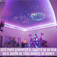 Project WDW fireworks on the ceiling! Neon Bedroom, Bedroom Themes, Room Decor Bedroom, Girls Bedroom, Bedroom Ideas, Disney Themed Bedrooms, Disney Princess Bedroom, Princess Bedrooms, Princess Room