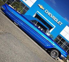 61 Chevy Impala Rag Low low........