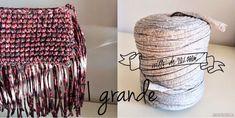 Cuánto trapillo se necesita para… Knit Crochet, Crochet Bags, Laundry, Organization, Knitting, Home Decor, Bikinis, Place Mats, Yarns