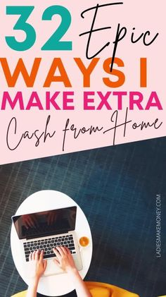 The Top 32 Legitimate Ways To Make Money At Home - Ladies Make Money Online! If you are looking for legitimate ways to make money from home, here are 32 legitimate ways to make money at home that you can start today. Work from home doing these amazing jobs effortlessly. Make Money Fast Online, Make Money Blogging, Money Tips, Make Money From Home, Money Saving Tips, Way To Make Money, Working Mom Tips, Online Work From Home, Making Extra Cash