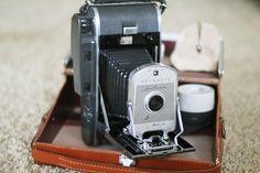 Polaroid instant cameras Model 160 (1962–1965)  I love old cameras...I've started a collection!