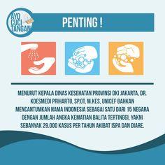 Menurut Kepala Dinas Kesehatan Provinsi DKI Jakarta, Dr. Koesnmedi Priharto, SP.OT, M.Kes, UNICEF bahkan mencantumkan nama Indonesia sebagai satu dari 15 negara dengan jumlah kematian balita tertinggi, yakni sebanyak 29.000 kasus per tahun akibat ISPA dan diare.
