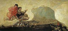 Vision fantástica o Asmodea (Goya) - Black Paintings - Wikipedia