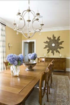 """Benjamin Moore Yellow Paint Color. """"Benjamin Moore 382 Buttermilk"""". This is the color of my house! Pretty, depending on which room it is , I guess"""