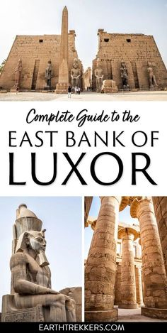 Complete Guide to the East Bank of Luxor, Egypt. Visit Karnak Temple and Luxor Temple, with advice from a local Egyptologist. #luxor #egypt #karnak