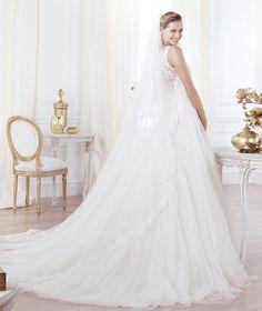 LAVIANNE, Wedding Dress 2014, back - Pronovias