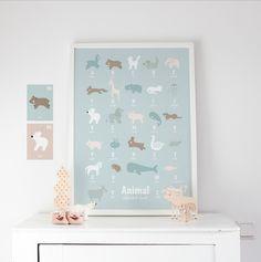 Animal alphabet #eeflillemor