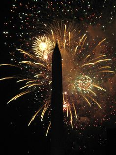 Washington, D. C.- 4th of July fireworks