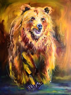 oil paintings bears - Google Search
