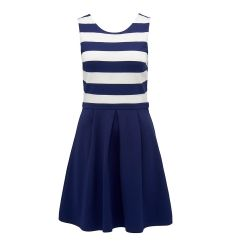 Carla contrast stripe dress
