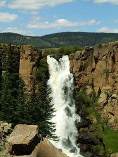 North Clear Creek Falls, Colorado.