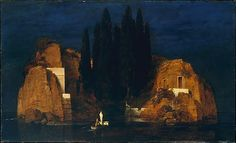 Island of the Dead  - Arnold Bocklin