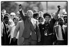 Nelson Mandela freed..... The only moment I have ever seen my father cry..... RIP Mr Mandela....