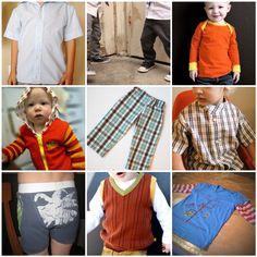 tutorials for handmade boys clothes :)