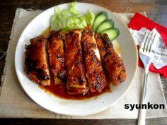 【簡単!!】おすすめです。パリパリ照り焼きチキンと、華原朋美さんのラジオ | 山本ゆりオフィシャルブログ「含み笑いのカフェごはん『syunkon』」Powered by Ameba