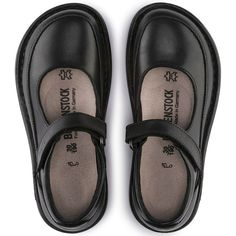 BIRKENSTOCK June Natural Leather in all sizes ✓ Buy directly from the manufacturer online ✓ All fashion trends from Birkenstock Pretty Shoes, Beautiful Shoes, Cute Shoes, Me Too Shoes, Comfy Shoes, Comfortable Shoes, Oxford Shoes Outfit, Black High Heels, Mary Jane Shoes