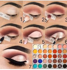Step By Step Tutorial with The Jaclyn Hill Eyeshadow Palette #eyeshadowsinspiration
