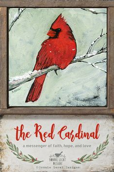 The Red Cardinal - Christmas cardinal painting Bird Painting Acrylic, Acrylic Painting Lessons, Watercolor Paintings, Watercolors, Christmas Drawing, Christmas Paintings, Christmas Art, Christmas Holidays, Wine And Canvas
