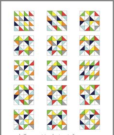 (notitle) 2019 The post (notitle) 2019 appeared first on Scrapbook Diy. Half Square Triangle Quilts Pattern, Square Quilt, Triangle Quilt Tutorials, Half Square Triangles, Barn Quilt Patterns, Pattern Blocks, Patch Quilt, Quilt Blocks, Fat Quarter Quilt