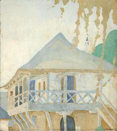 Pierre-Jean Maurel - thunderstruck9:  Spyros Papaloukas (Greek 1892-1957) Megistis...
