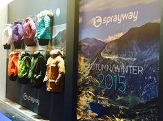 Sprayway mannequins at Munich trade show
