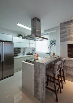86 veces he visto estas apacibles cocinas minimalistas. Kitchen Counter Design, Kitchen Sets, Home Decor Kitchen, Interior Design Kitchen, New Kitchen, Home Kitchens, Diy Kitchen Storage, Apartment Kitchen, Küchen Design