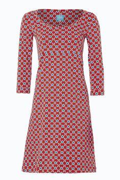 Dress Bibi Red #Tante Betsy