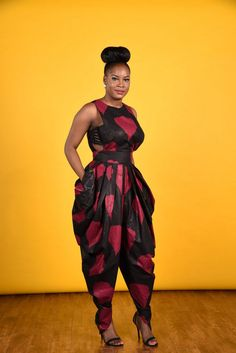 SALE Victoria Harem Jumpsuit African print clothing by RAHYMA - Ankara Design ~African fashion, Ankara, kitenge, African women dresses, African prints, Braids, Nigerian wedding, Ghanaian fashion, African wedding ~DKK