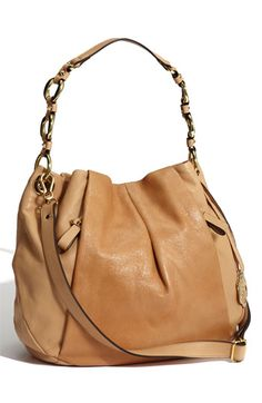 I WANT this!  Vince Camuto Leather Hobo