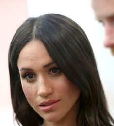 Meghan Markle speaks with delegates from the Commonwealth Youth Forum at the Queen Elizabeth II Conference Centre, during the Commonwealth Heads of Government Meeting in London, United Kingdom