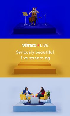 Join Vimeo Live and get high-quality live streaming that grabs audiences everywhere. With stress-free streaming and support from real-life humans, it's everything you need for your next event.