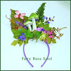 Fairy Crown - The Enchanted Forest Headpiece - Fairy Costume Accessory