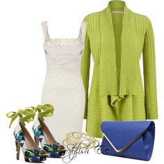 """Colored Outfit"" by stylisheve on Polyvore"