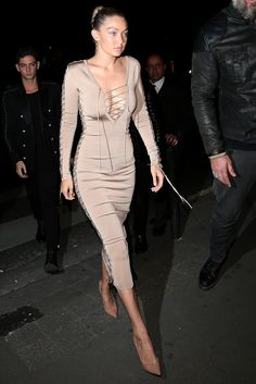 At Balmain's After-Show Party in October