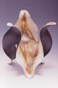 Goblet base by MARILYN DRUIN  (cloisonne)