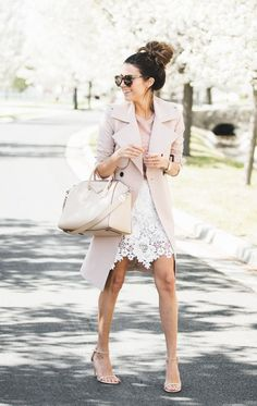 3 Ways to Wear a Lace Skirt | Hello Fashion