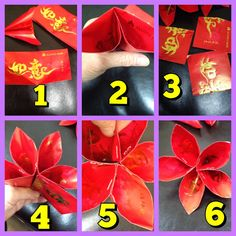 Chinese New Year is round the corner.  I have been clearing stuff and found so many angpow (red paper) packets. Such a waste to throw them...