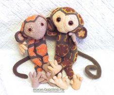 Cute Monkey in African Flowers Crochet Monkey, Crochet Teddy, Cute Crochet, Crochet Toys, Crochet Amigurumi Free Patterns, Crochet Doll Pattern, Crochet African Flowers, Crochet Flowers, Zoo Project