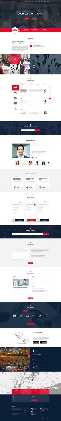 EVENT - Conference and Event PSD Template by Kalanidhithemes | ThemeForest
