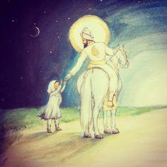 """If it pleases You unite me with You."" Beautiful Guru Gobind Singh Ji artwork by Sikhism Beliefs, Guru Tegh Bahadur, Guru Nanak Wallpaper, Gal Gadot Photos, Guru Nanak Ji, Ancient Indian History, Radha Soami, Sri Guru Granth Sahib, Alone Art"