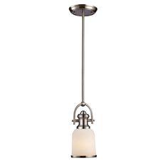 Brooksdale Ceiling Lighting - Satin Nickel / 1 / 2701PS/22